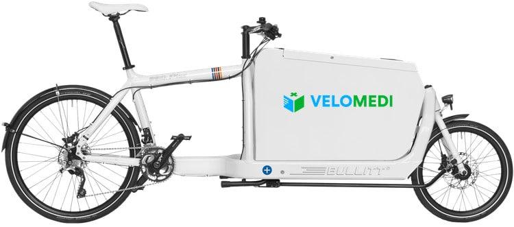 Fiets voor fietskoerier in Rotterdam