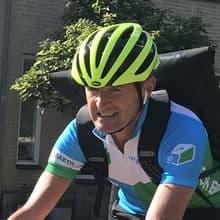 Marc fietskoerier Tilburg