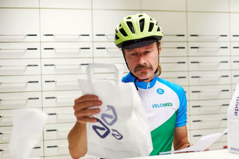 Vacature fietskoerier Veenendaal